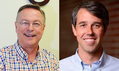 Iowa Congressman Rod Blum (GOP) and Texas Congressman Beto O'Rourke (Dem), leaders of the Term Limits Caucus.