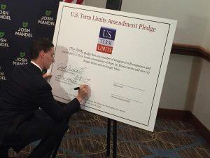 Josh Mandel Signs U.S. Term Limits Pledge
