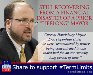 """On the Brink of Bankruptcy Under """"Mayor for Life,"""" Harrisburg City Council Calls for Term Limits"""