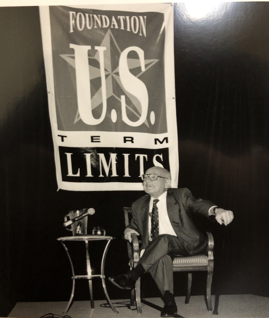 Milton Friedman on Term Limits