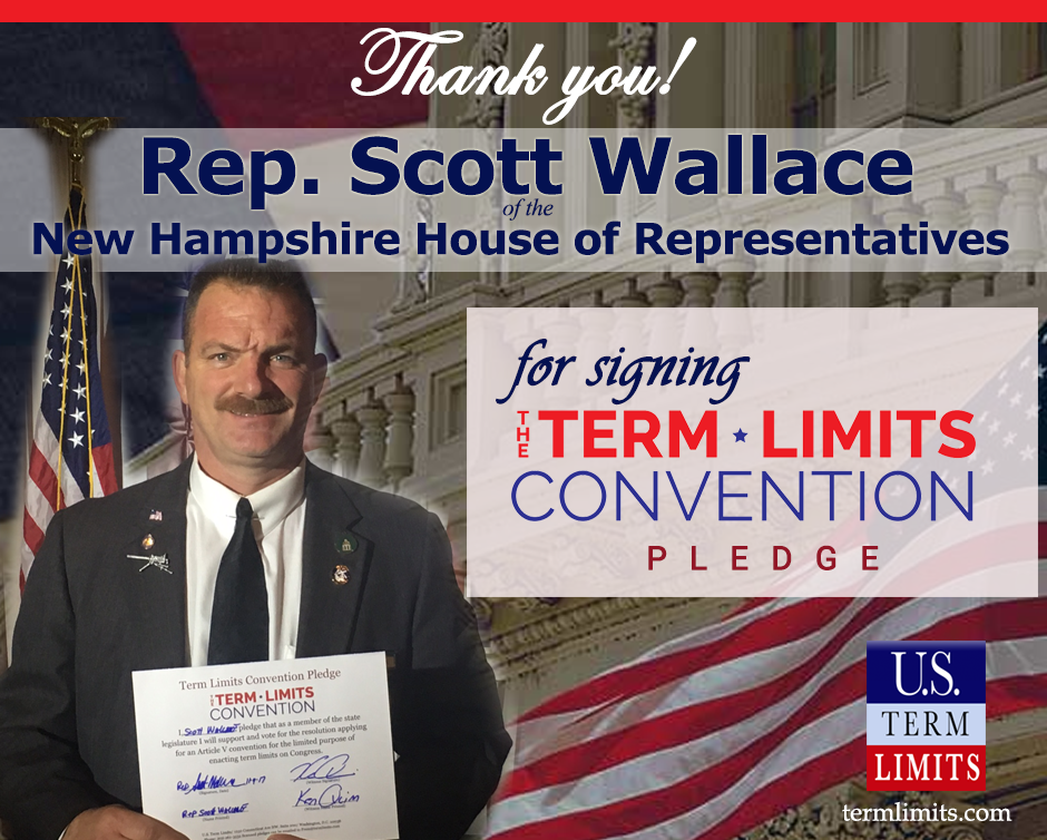 New Hampshire's Scott Wallace Sponsors Legislation Calling