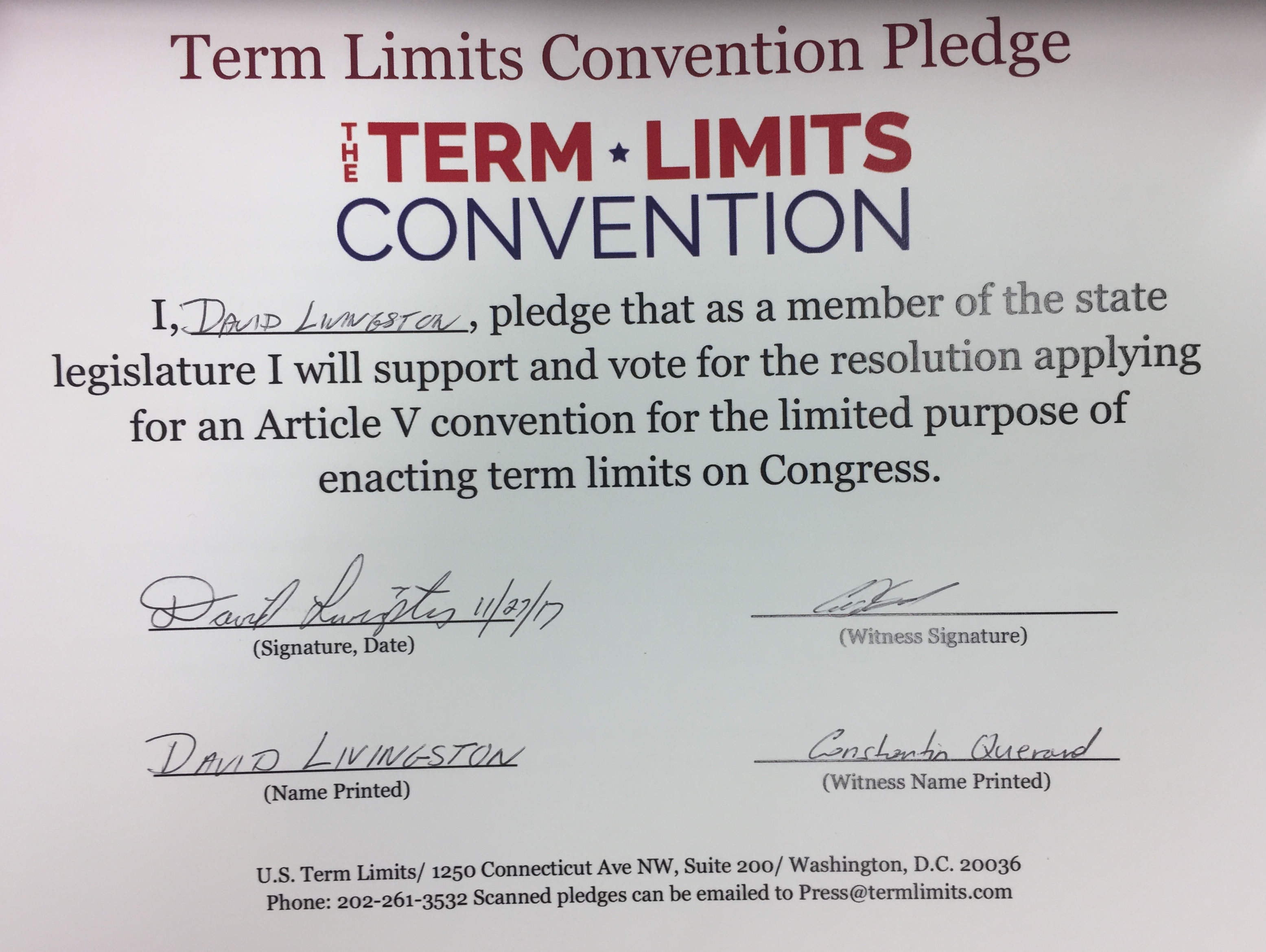 term limits for legislators 20112015 supporters say term limits have been a success, rotating florida's political stock, retiring long-time politicians and shuffling new blood into office.