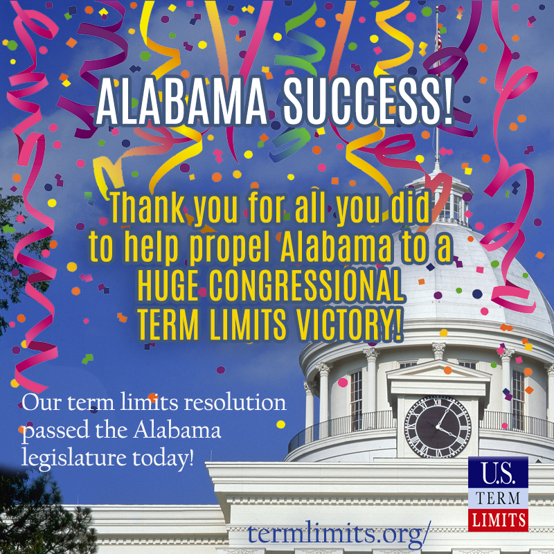 Alabama WIN passes article v term limits application