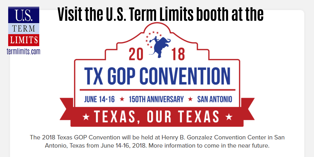 Texas GOP Convention Booth Term Limits