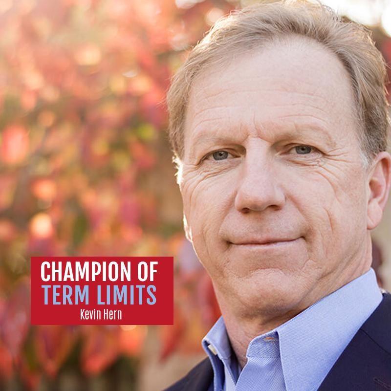 KevinHernOK1 signs term limits pledge