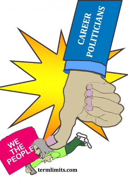 Thumb Crush of Career Politicians