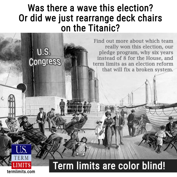 Was the 2018 Election a Wave or are we just rearranging chairs on the Titanic?