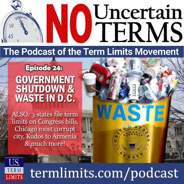 No Uncertain Terms Podcast Episode 24 Government Shutdown