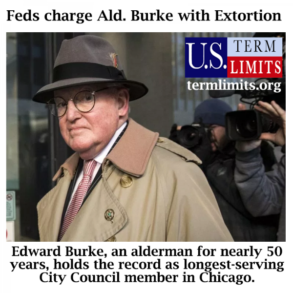 Ed Burke Chicago Alderman Indicted