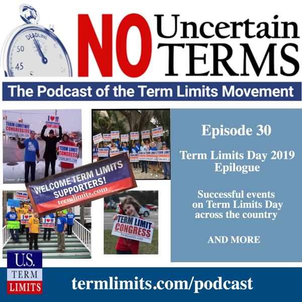 No Uncertain Terms Episode 30 Transcript - U S  Term Limits