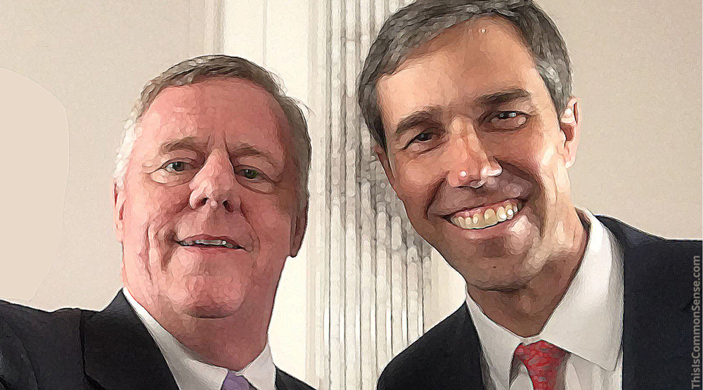 Paul Jacob with Beto O'Rourke