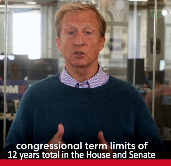 Tom Steyer on Term Limits for Congress