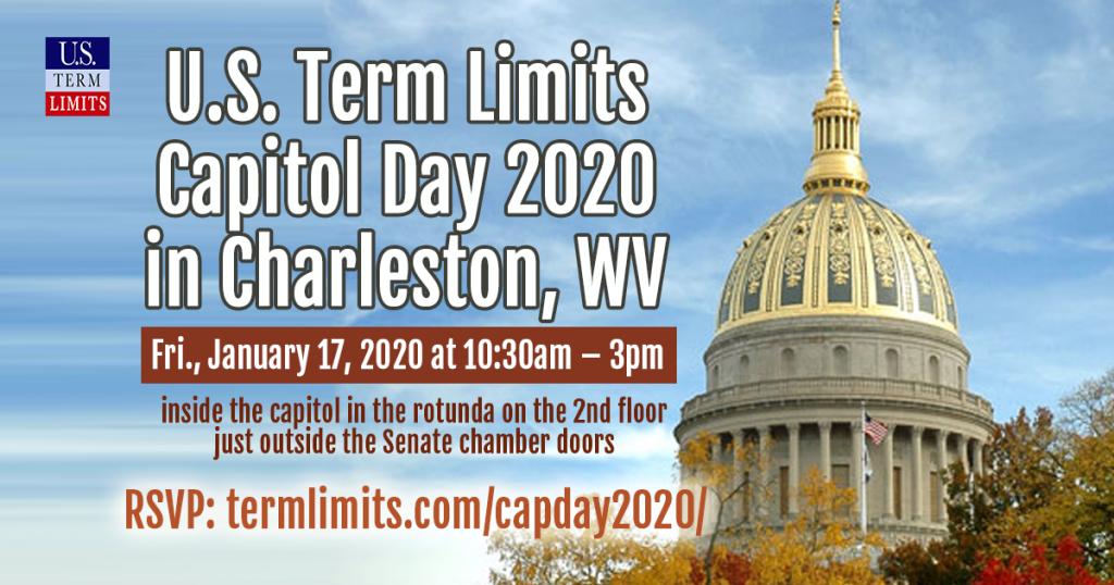 Charleston, WV Term Limits Capitol Day