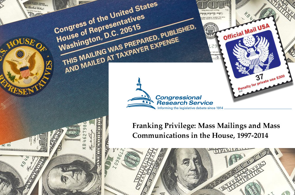$50000/year franking privilege for members of Congress