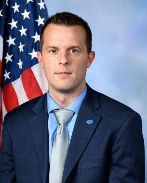 U.S. Rep from Maine Jared Golden Democrat