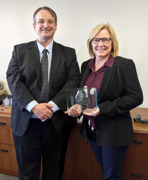 Rep. Michelle Fischbach with Scott Tillman (Minnesota)