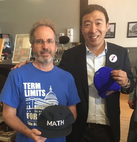 Andrew Yang supports term limits on Congress